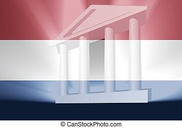 Flag of Netherlands government - Flag of Netherlands,...