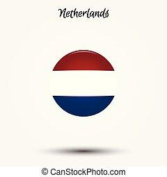Flag of Netherlands icon