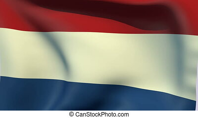 Flag of Netherlands - Flags of the world collection -...