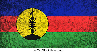 Flag of New Caledonia.