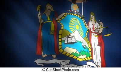 Flag of Newyork (seamless)
