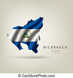 Flag of NICARAGUA as a country