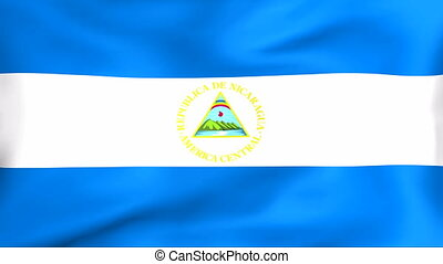 Flag Of Nicaragua - Developing the flag of Nicaragua