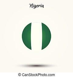 Flag of Nigeria icon