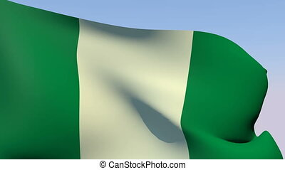 Flag of Nigeria - Flags of the world collection - Nigeria