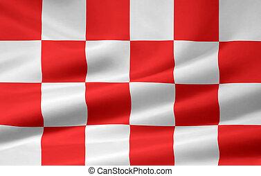 Flag of North Brabant - Netherlands - High resolution flag ...
