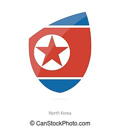 Flag of North Korea.