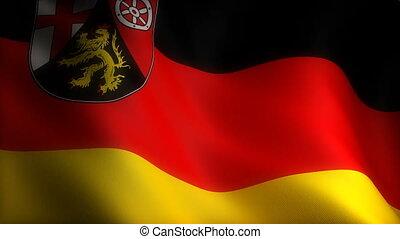 Flag of North Rhineland-Palatinate