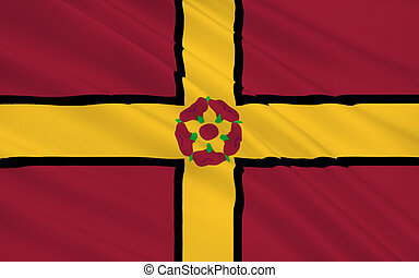 Flag of Northamptonshire county, England - Flag of ...