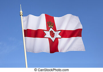 Flag of Northern Ireland - Ulster Banner - Flag of the ...