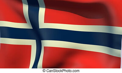 Flag of Norway - Flags of the world collection - Norway