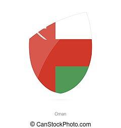 Flag of Oman.