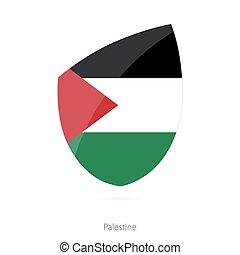 Flag of Palestine.