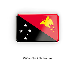 Flag of papua new guinea, rectangular icon