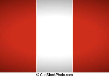 Flag of Peru.