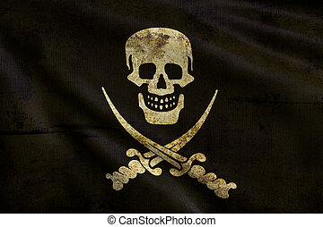 Flag of pirate