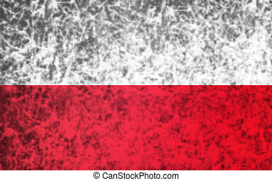 Flag of Poland.