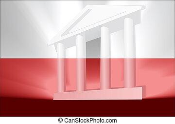 Flag of Poland government - Flag of Poland, national country...