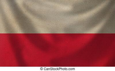 Flag of Poland.
