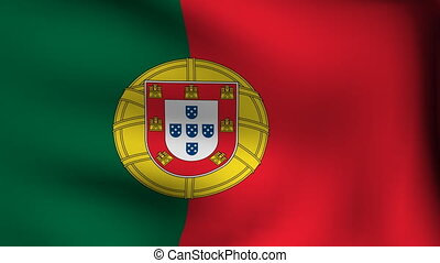 flag of portugal background
