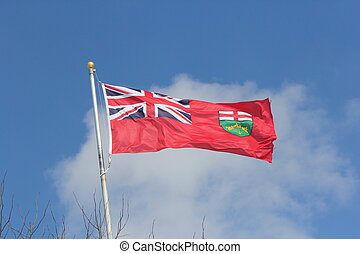 Flag of Province of Ontario