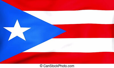 Developing the flag of Puerto Rico