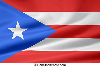 Flag of Puerto Rico - High resolution flag of Puerto Rico