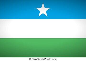 Flag of Puntland.
