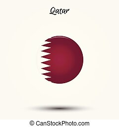 Flag of Qatar icon