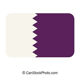 flag of qatar