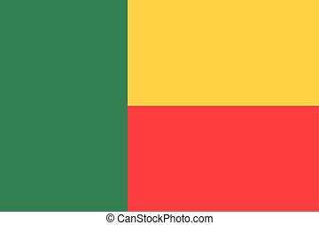 Flag of Republic of Benin