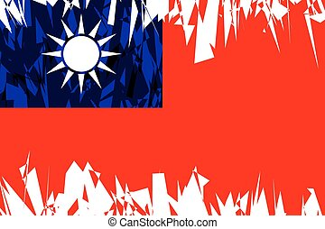 Flag of Republic of China. - Flag of Republic of China in ...