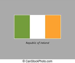 flag of republic of ireland