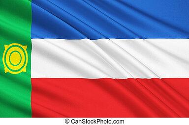 Flag of Republic of Khakassia, Russian Federation - The ...