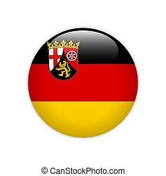 Flag of Rhineland-Palatinate button