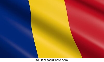 Flag of Romania (seamless loop) - great for topics like...