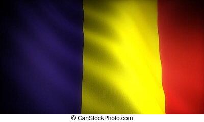 Flag of Romania (seamless)