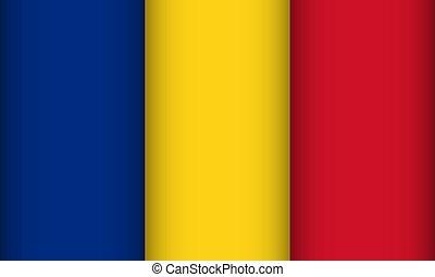 Flag of Romania.