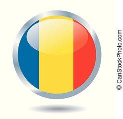 Flag of Romania vector illustration