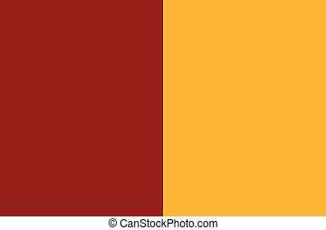 Flag of Rome, Italy. Vector Format
