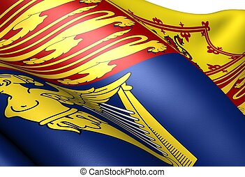 Flag of Royal Standard of the United Kingdom