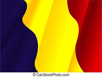 Flag of Rumania