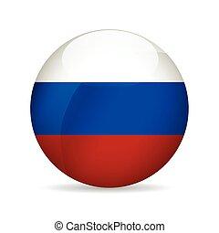 Flag of Russia. Vector illustration.