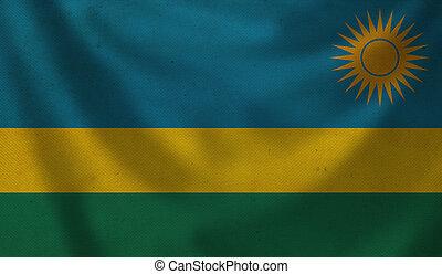 Flag of Rwanda.