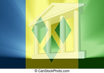 Flag of Saint Vincent and Grenadines government - Flag of...