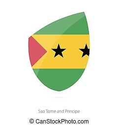 Flag of Sao Tome and Principe. Vector Illustration.