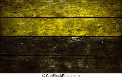 flag of saxony-anhalt on old wooden planks