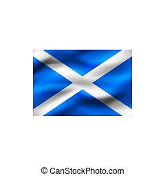 Flag of Scotland.