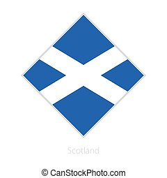 Flag of Scotland participant of the Europe football competition.