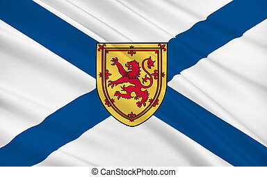 Flag of Scotland, United Kingdom of Great Britain